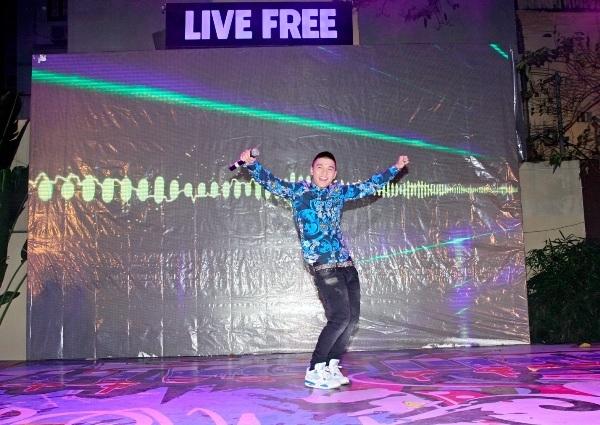 """""""Bùng nổ"""" cùng LIVE FREE –  Bữa tiệc Underground đầy màu sắc"""
