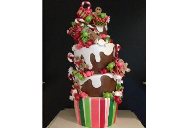 Những chiếc bánh thú vị cho ngày lễ Giáng sinh