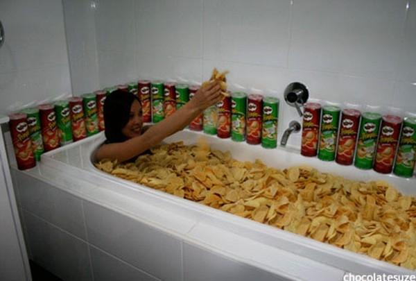 Những kiểu tắm bồn độc nhất vô nhị trên thế giới