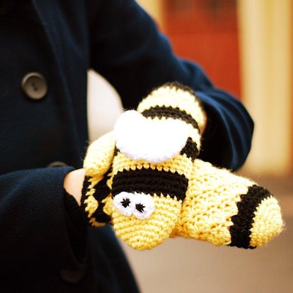 Găy tay len cực đáng yêu cho ngày đông giá rét