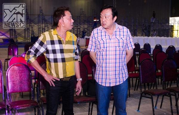 Hậu trường vui nhộn của liveshow Vân Sơn trước giờ G