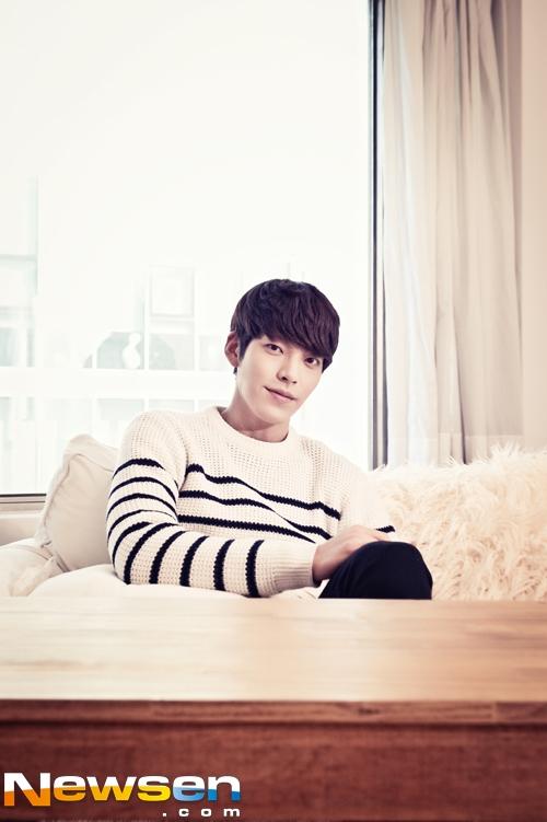 Kim Woo Bin không có ý định trở thành diễn viên