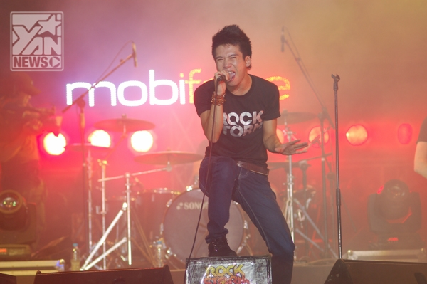 RockStorm 2013 khiến rockfan Biên Hòa mãn nhãn