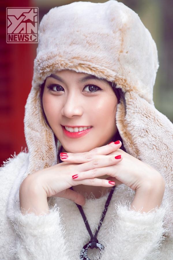 Hotgirl Như Nita dịu dàng đón Giáng sinh
