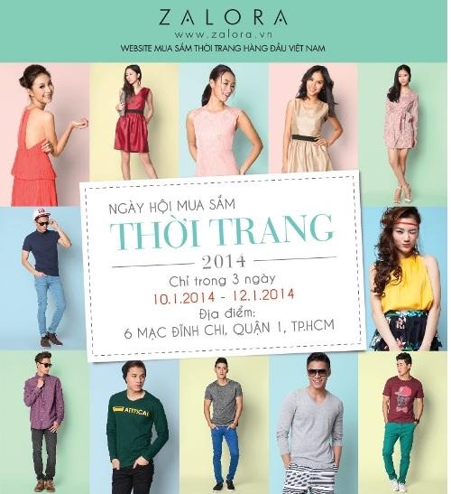 Giảm giá khủng cùng ngày hội mua sắm thời trang 2014 - ZALORA Offline Sale Lần thứ 3