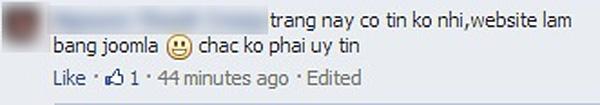 """Tuy vậy cũng có khá nhiều người tỏ ra """"nghi ngờ"""" về độ uy tín của trang web này. - Tin sao Viet - Tin tuc sao Viet - Scandal sao Viet - Tin tuc cua Sao - Tin cua Sao"""