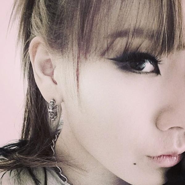 """CL đã chia sẻ hình mắt của mình trên Instargam với chú thích """"Piece of me"""