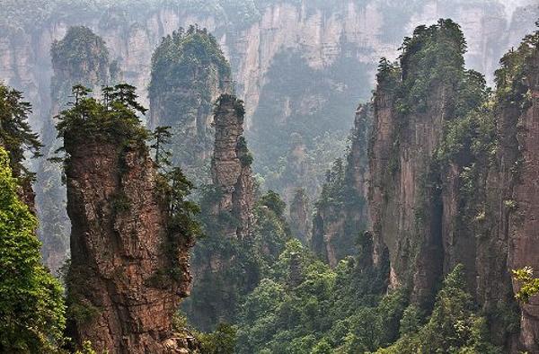 Zhangjiajie. Ảnh: Huanqiu.