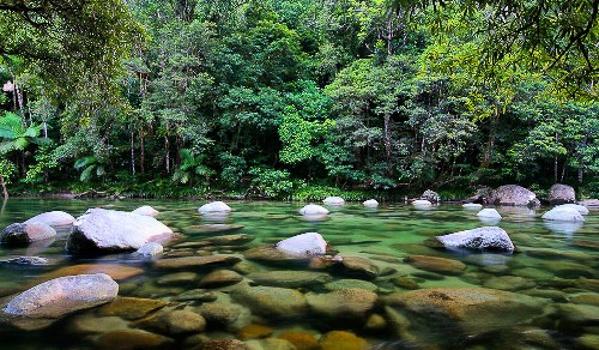 Con sông ở hẻm Mossman. Ảnh: Australiantrveller