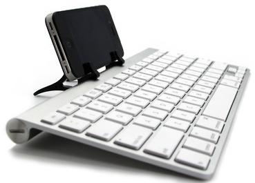Bạn có thể sử dụng iPhone hoặc iPad cùng bất kì một bàn phím rời có kết nối Bluetooth nào để nâng cao hiệu quả công việc.
