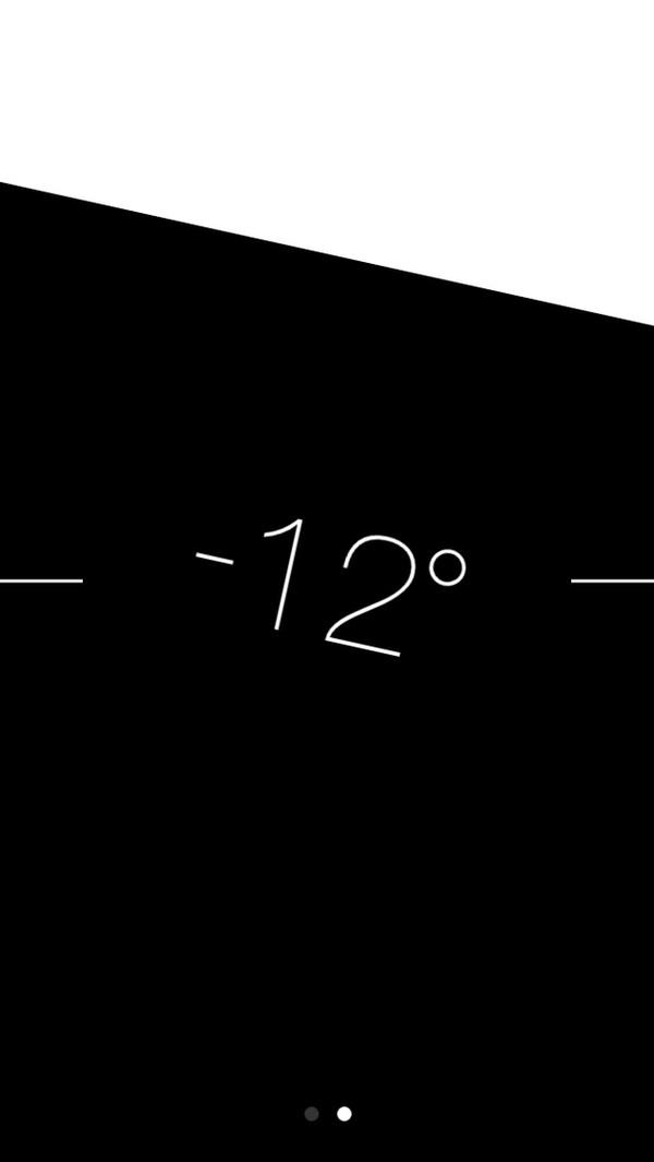 Với ứng dụng la bàn (Compass), khi vuốt sang trái thiết bị sẽ hiển thị đúng độ của vị trí màn hình. Đây sẽ là thước đo thăng bằng bỏ túi của bạn.