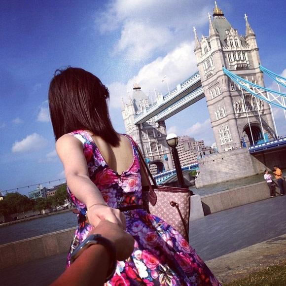 Cầu tháp Tower Bridge, London.