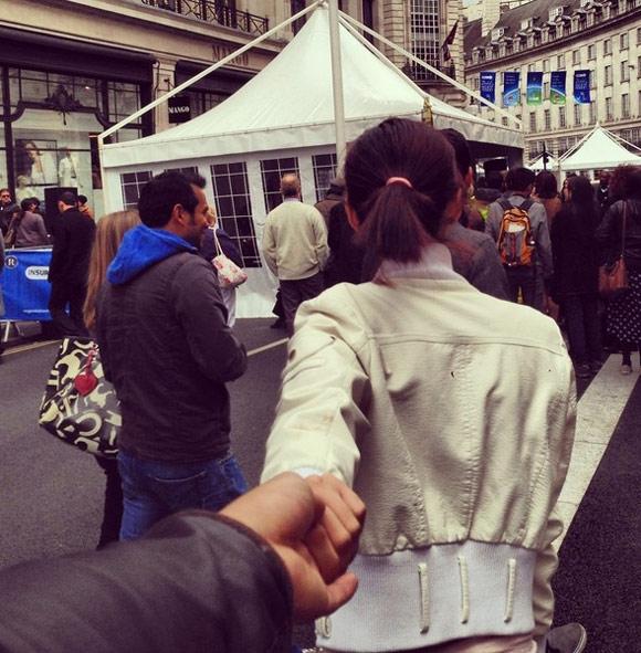 Regent Street - phố mua sắm nổi tiếng nhất London.