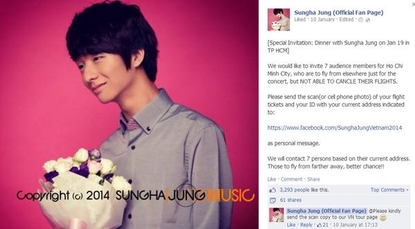 Sungha Jung Concert Tour in Vietnam 2014 sẽ được tổ chức tại Nhà hát Lớn (Hà Nội) ngày 18/01/2014. - Tin sao Viet - Tin tuc sao Viet - Scandal sao Viet - Tin tuc cua Sao - Tin cua Sao