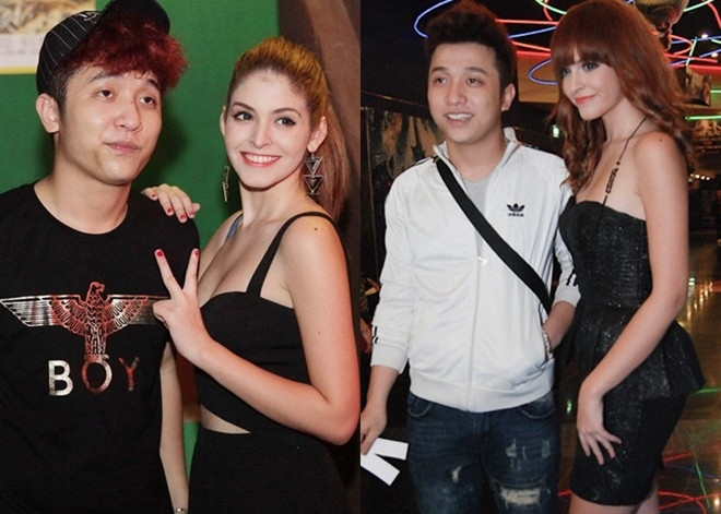 Những người đẹp mải mê yêu, quên việc của showbiz Việt 2013