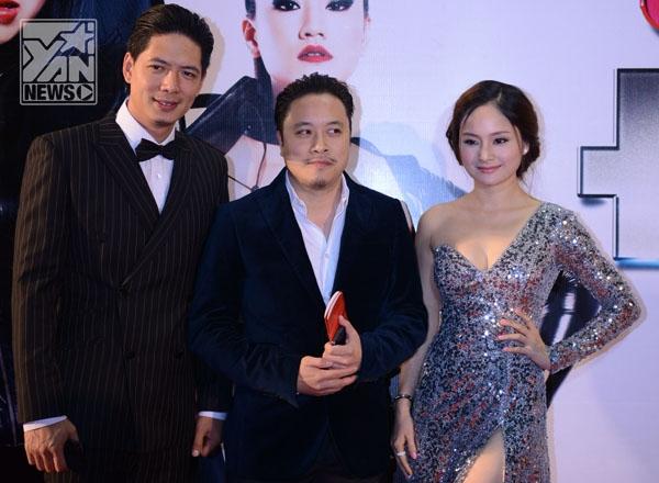 Bình Minh - Lan Phương và đạo diễn Victor Vũ - Tin sao Viet - Tin tuc sao Viet - Scandal sao Viet - Tin tuc cua Sao - Tin cua Sao
