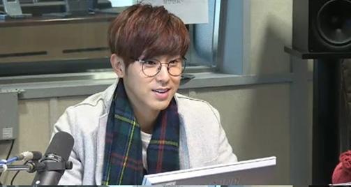 Yunho trong chương trình radio Power FM's Power Time