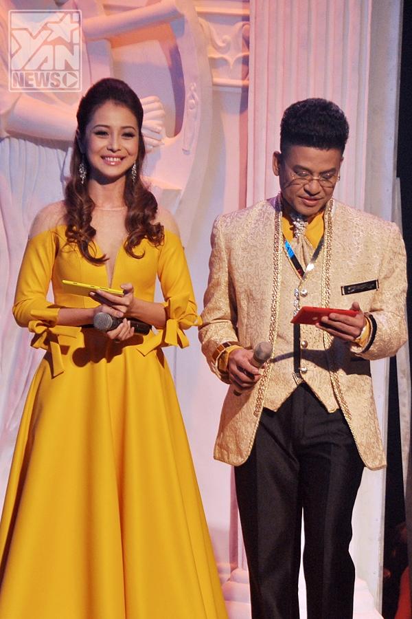 2 MC Jennifer Phạm và Thanh Bạch