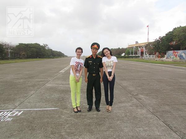 Vy Oanh thích thú với lần đầu ra thăm đảo Trường Sa - Tin sao Viet - Tin tuc sao Viet - Scandal sao Viet - Tin tuc cua Sao - Tin cua Sao