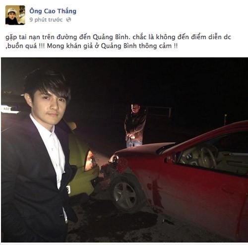 Ông Cao Thắng và hiện trường vụ tai nạn tông xe tại Quảng Bình mới đây. - Tin sao Viet - Tin tuc sao Viet - Scandal sao Viet - Tin tuc cua Sao - Tin cua Sao