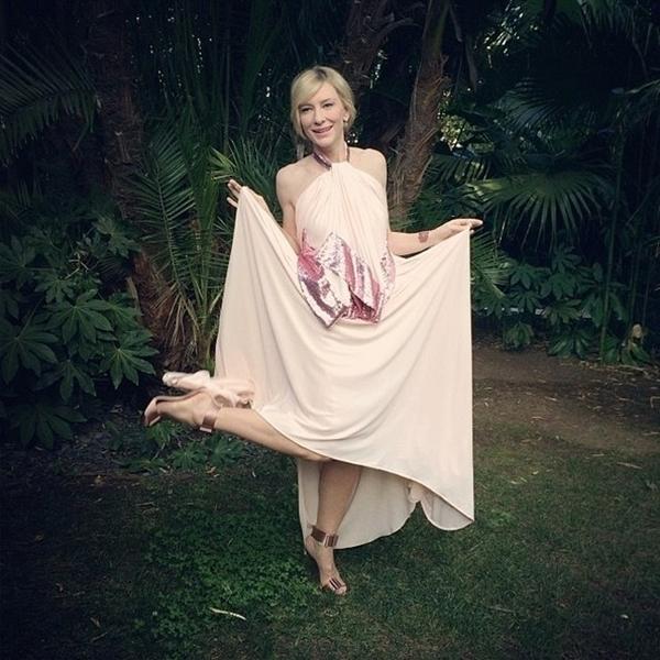 Cate Blanchett luôn luôn là một quý bà sang trọng quý phái