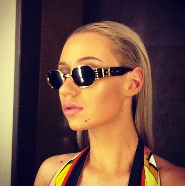 Iggy Azalea phong cách thời trang khi tới Miami