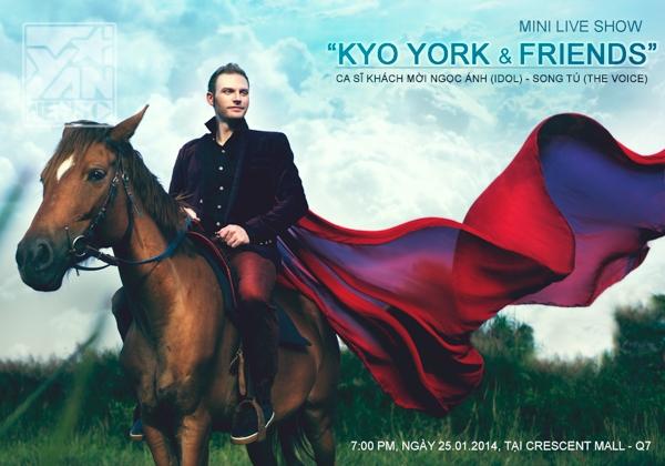 Kyo York đón Tết Việt Nam bằng album Xuân kỷ niệm