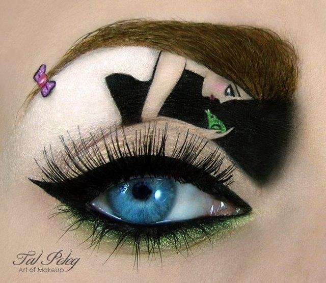 Sững sờ những kiệt tác được vẽ trên mí mắt