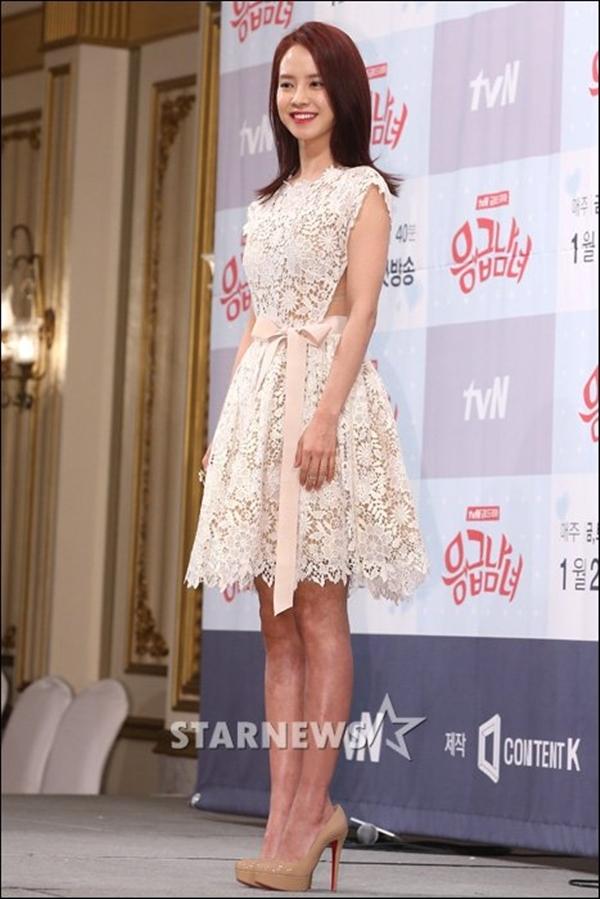 . Song Ji Hyo tại buổi ra mắt phim