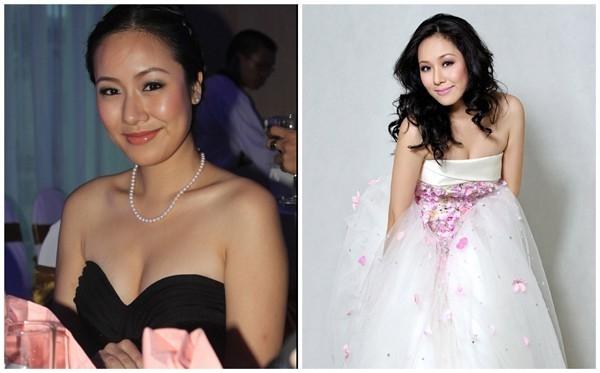Hoa hậu Ngô Phương Lan sở hữu vẻ đẹp phúc hậu và cặp tuyết lê tròn đầy đáng mơ ước. Cô là một trong những hoa hậu nói không với dao kéo.