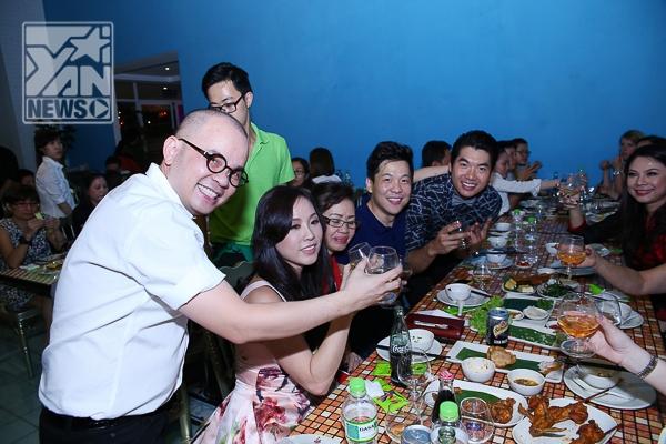 Đông đảo Sao Việt nô nức dự tiệc giỗ Tổ nghề bếp