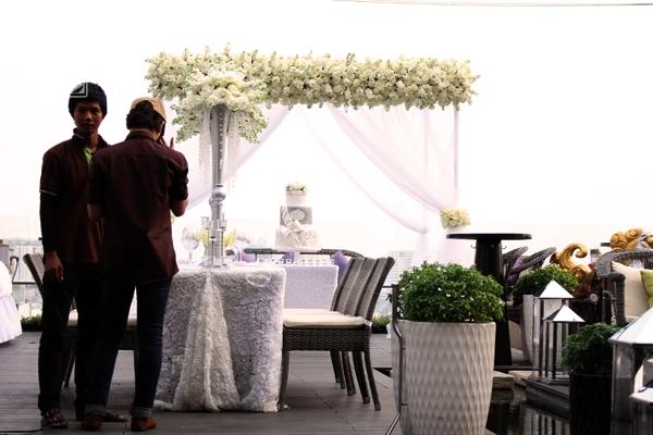 Cô dâu của Baggio không đi xe hoa đến tiệc cưới
