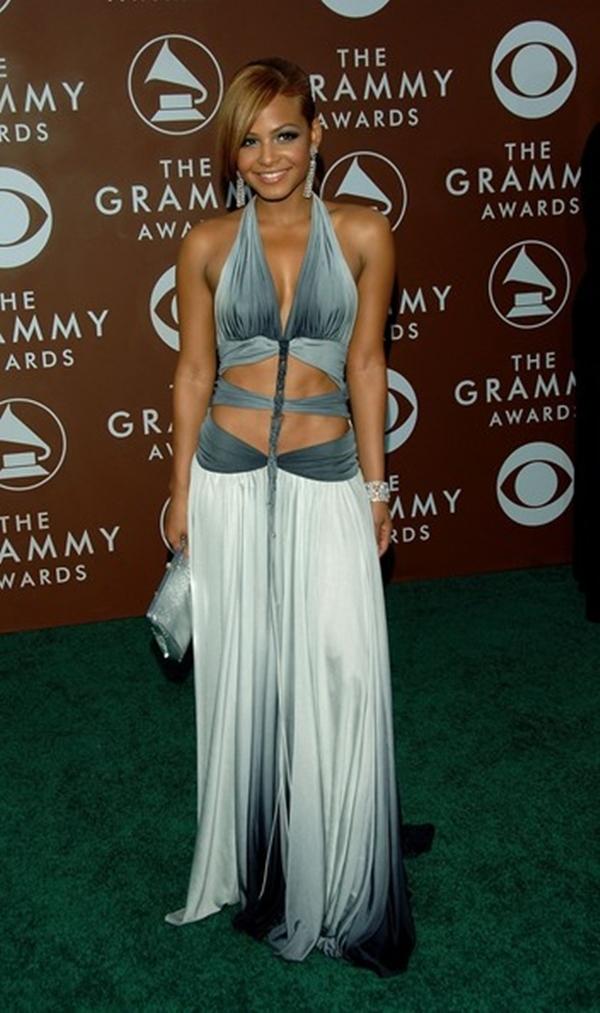 Vào lễ trao giải năm 2006,Christina Milian đã mặc một bộ trang phục khiến người nhìn phải nóng mặt