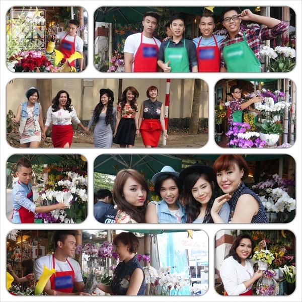 Những hình ảnh của Top 9 Vietnam Idol trong MV Anh mang theo mùa xuân  Minh Thủy