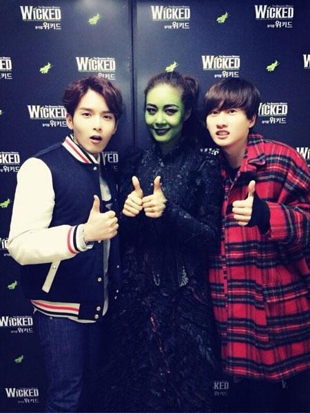 Ryeowook và Eunhyuk