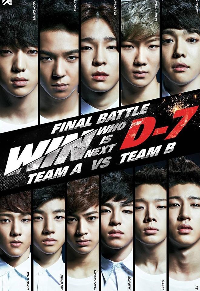 Có khả năng cả Team A và Team B của WIN sẽ cùng ra mắt ngay trong năm 2014.