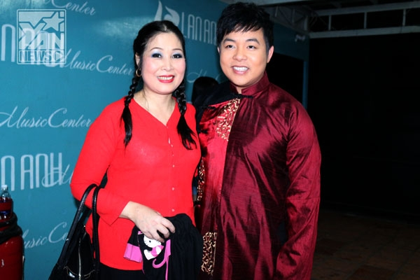 NSUT Hồng Vân và Quang Lê