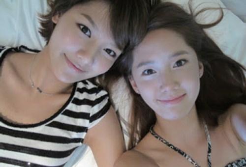 Sooyoung và Yoona rất thân thiết