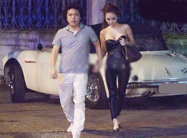 Angela Phương Trinh và bạn trai khai gian tuổi