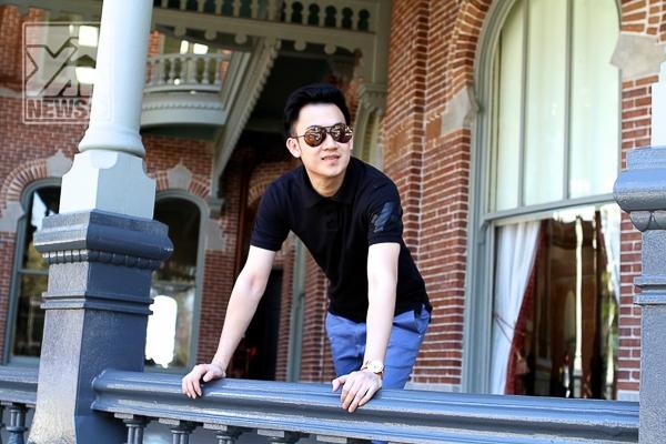 Dương Triệu Vũ trở về Mỹ thăm trường cũ - Tin sao Viet - Tin tuc sao Viet - Scandal sao Viet - Tin tuc cua Sao - Tin cua Sao
