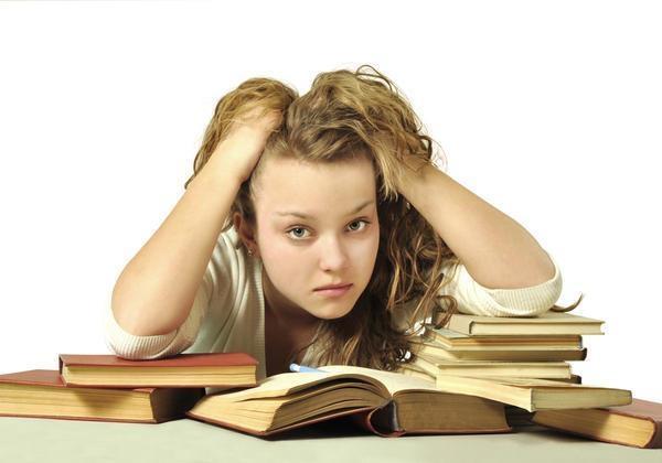 Áp lực học tập là nguyên nhân gây ra stress