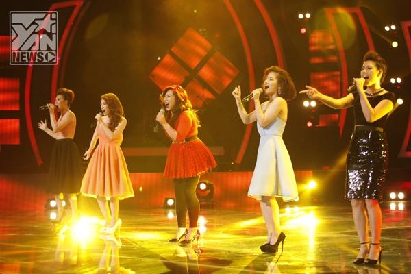 ...và Top Nữ Vietnam Idol cùng ca khúc Mặt trời dịu êm.