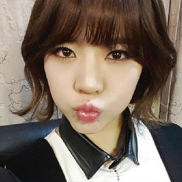 Sunny đốn tim fan bằng hình ảnh chu môi siêu dễ thương của mình