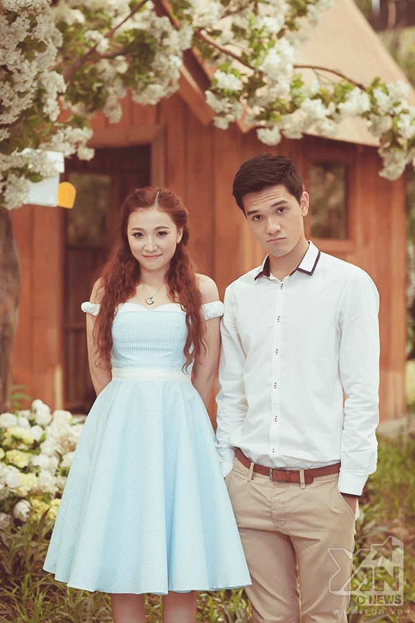 Đón Valentine trắng thật lãng mạn cùng Phan Thiên Ngân và Nhiko Đinh
