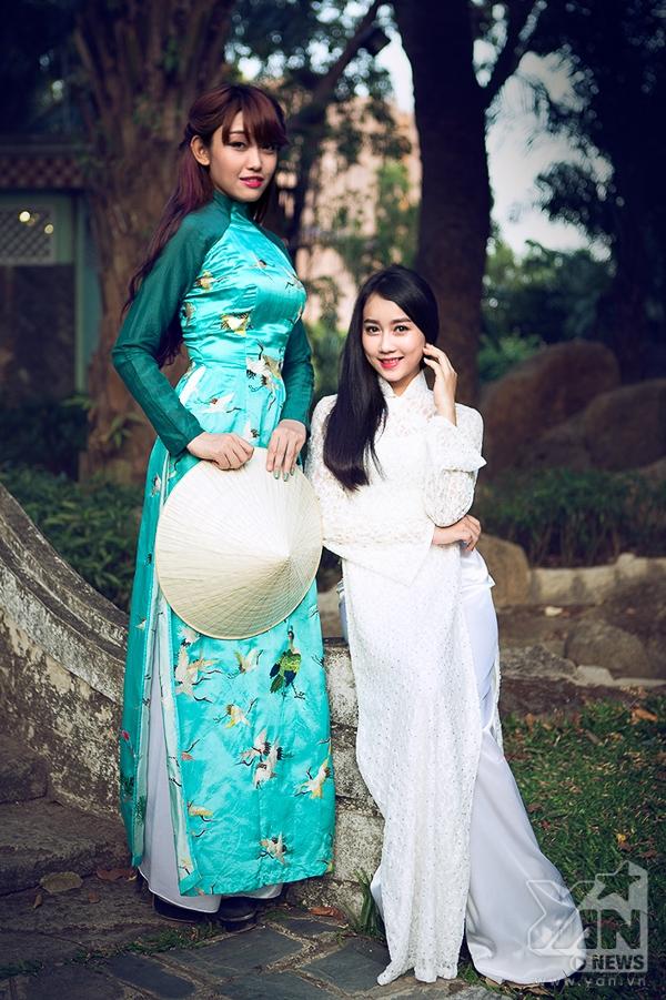 Lương Minh Trang giành giải quán quân ảnh đẹp tại Lễ Hội Áo Dài
