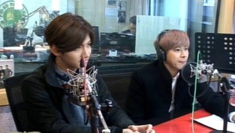 Hình ảnh DBSK trong chương trình radio Kim Shin Young's MBC
