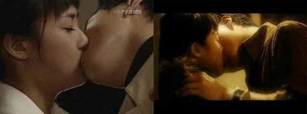 Ha Ji Won thật sự không biết nên làm gì với nụ hôn nồng nhiệt này