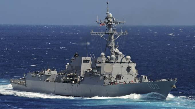 Mỹ điều USS Kidd đến Ấn Độ Dương tìm máy bay MH370 – Ảnh:Reuters