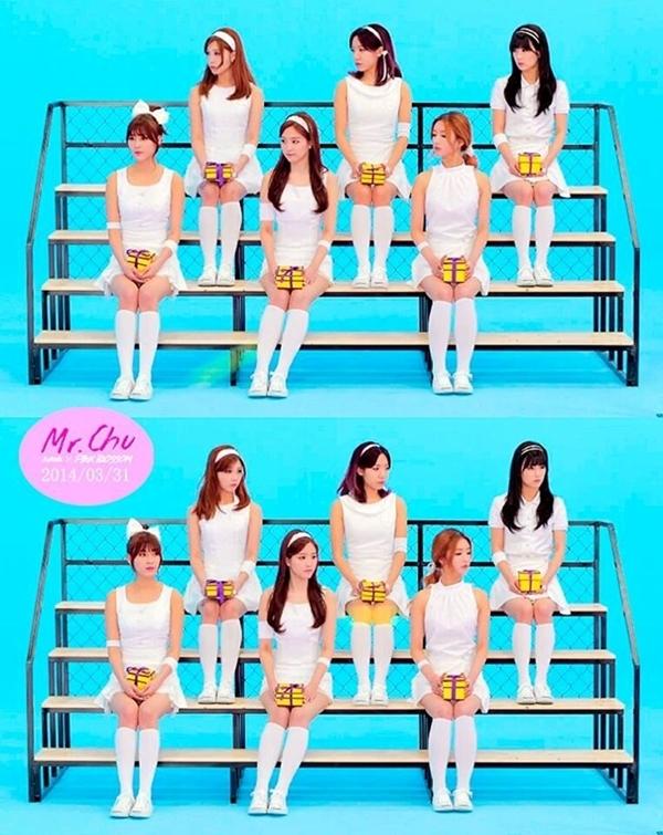 Apink sắp phát hành ca khúc Mr. Chu. Các cô gái chọn hình tượng khỏe khoắn, pha lẫn nét tinh nghịch, đáng yêu trên sân bóng tennis.