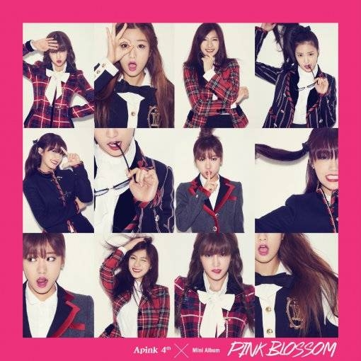 Mini album thứ 4 của A Pink - Pink Blossom